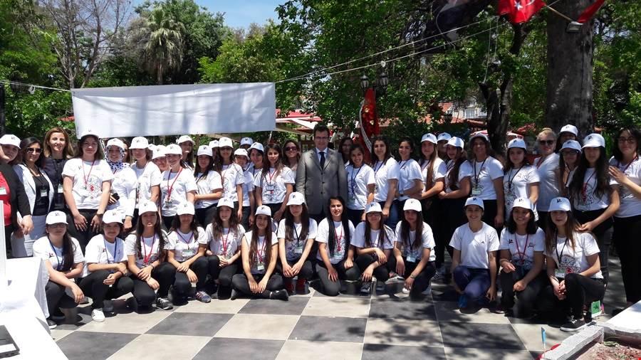 Dalaman Kaymakamı  Ali GÜLDOĞAN, Tübitak 4006 Bilim Fuarı sergisine katıldı.