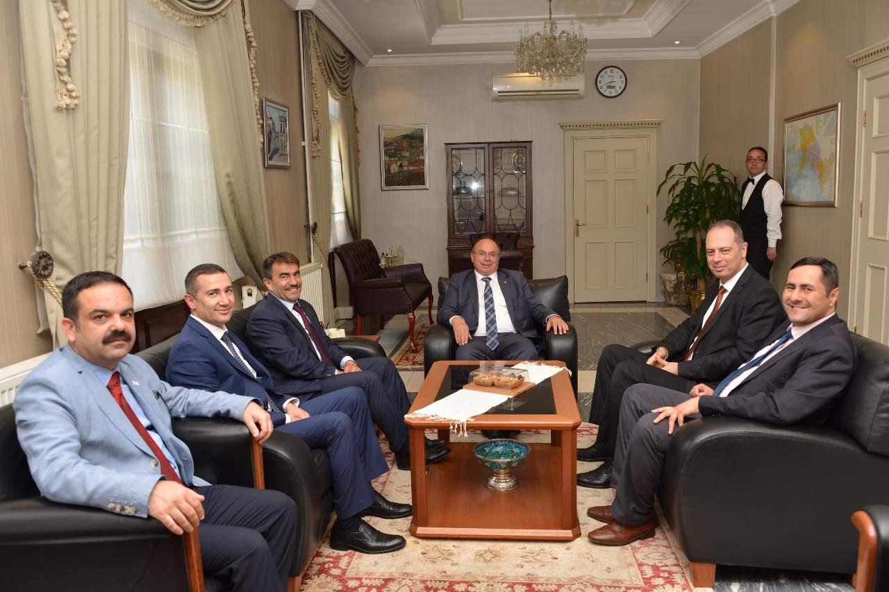 Basın İlan Kurumu Genel Müdürü Yakup Karaca'dan Vali Çiçek'e ziyaret