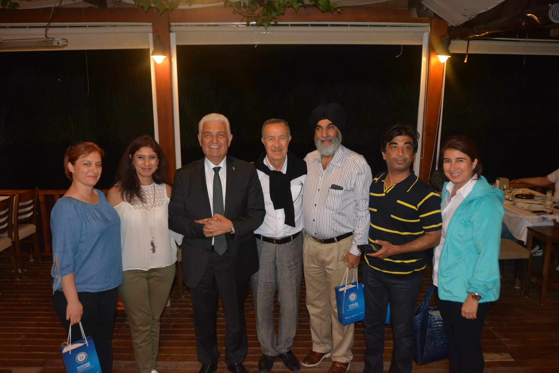 Büyükşehir Hindistanlı  Misafirlere Muğla'yı Anlattı