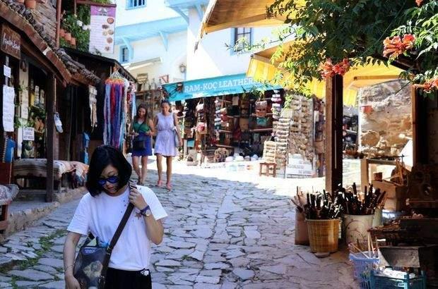 Ege'nin turistik köyleri ilgi görüyor