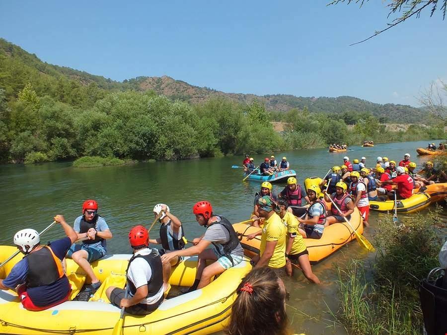 Kurumlararası Rafting Kaymakamlık Kupası yarışması düzenlendi