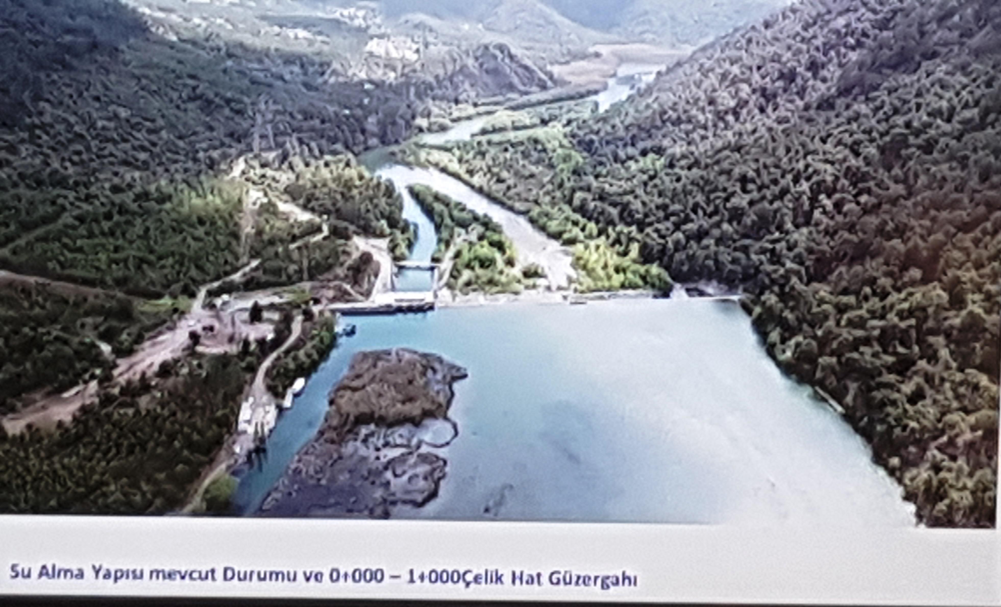 """Dalaman'a sulamada büyük proje """"4000"""" kişiye iş imkanı."""
