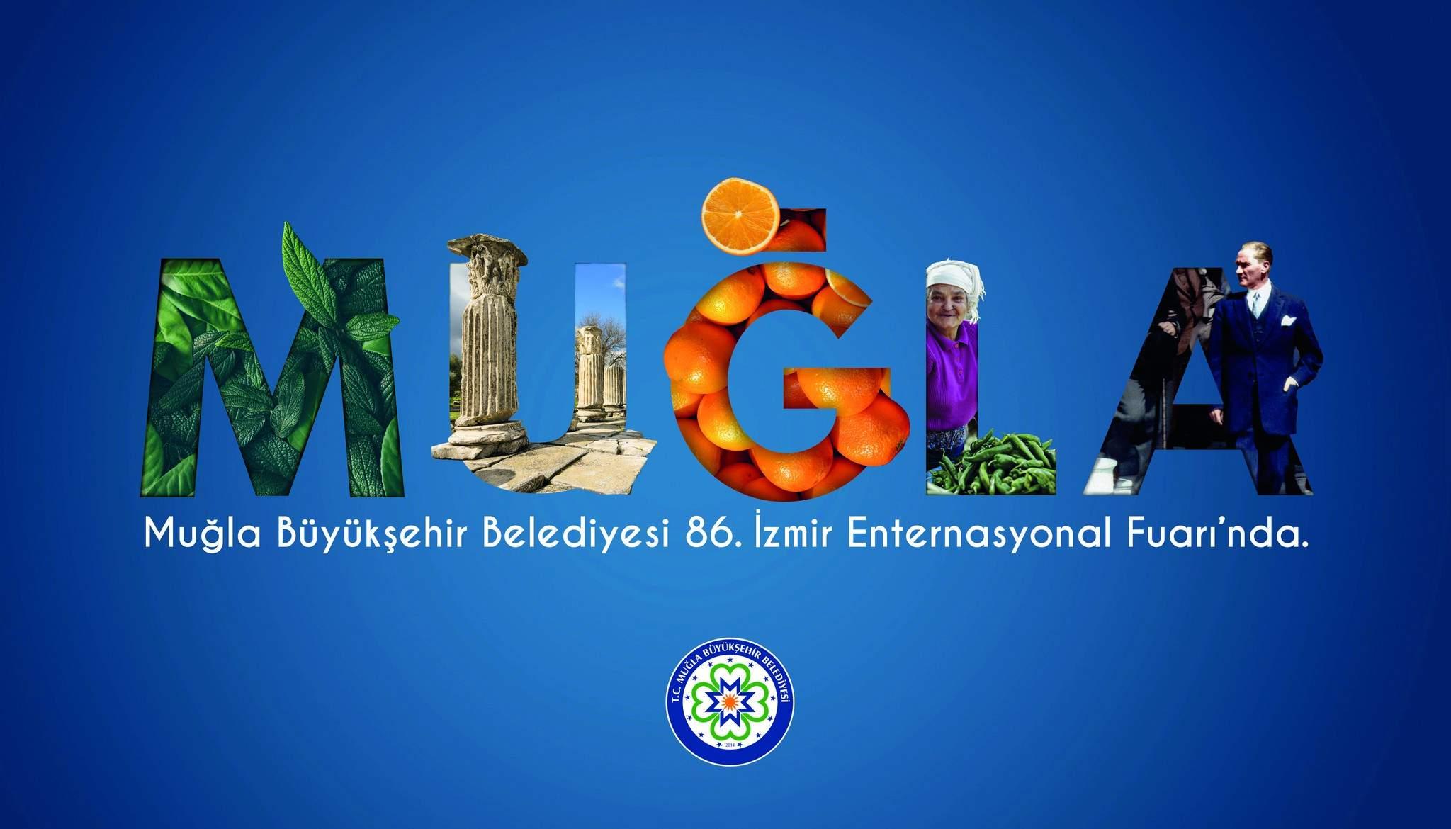 Büyükşehir Muğla İzmir Enternasyonal Fuarı'nda Onur Konuğu