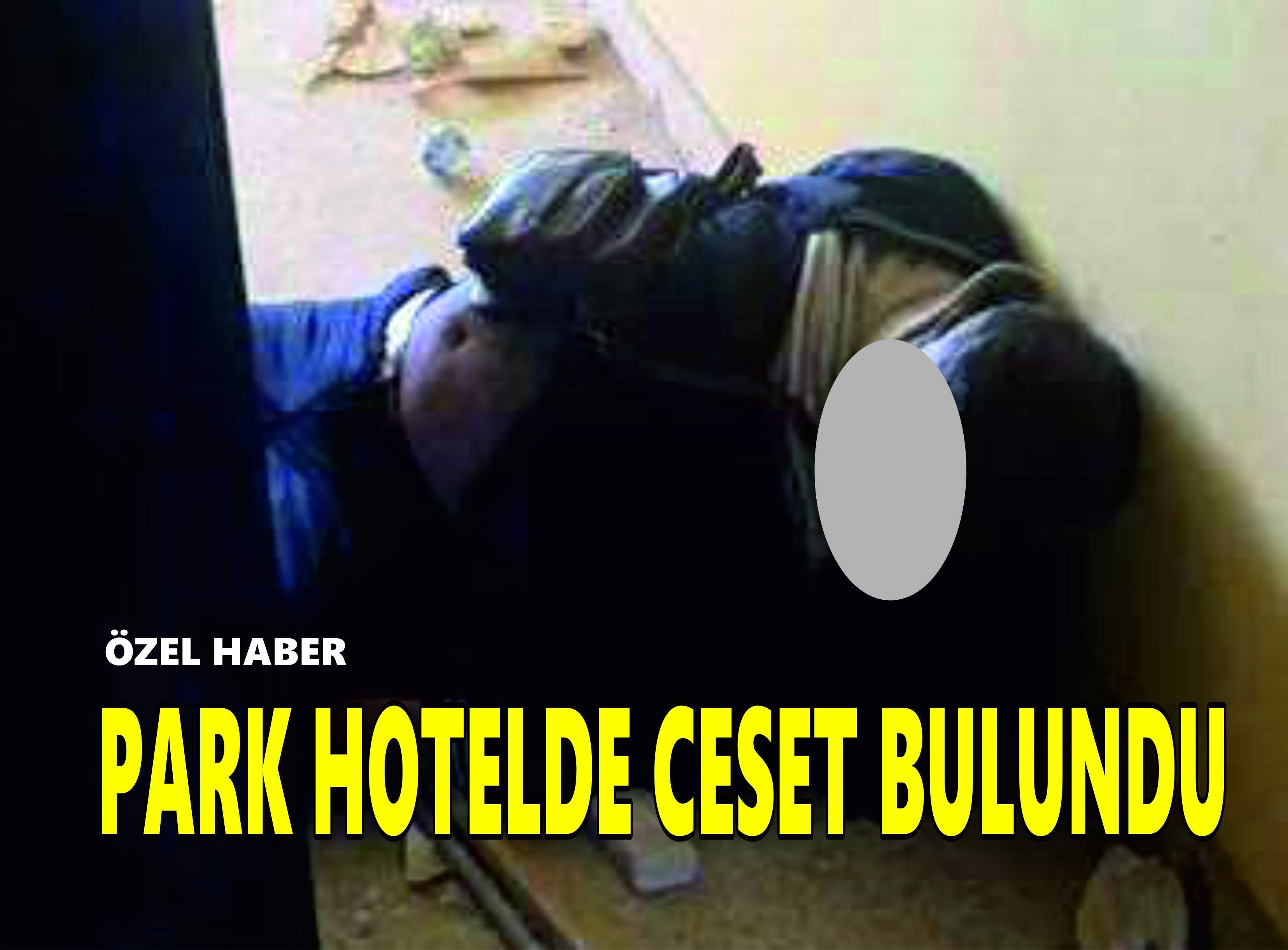 PARK HOTELDE CESET BULUNDU