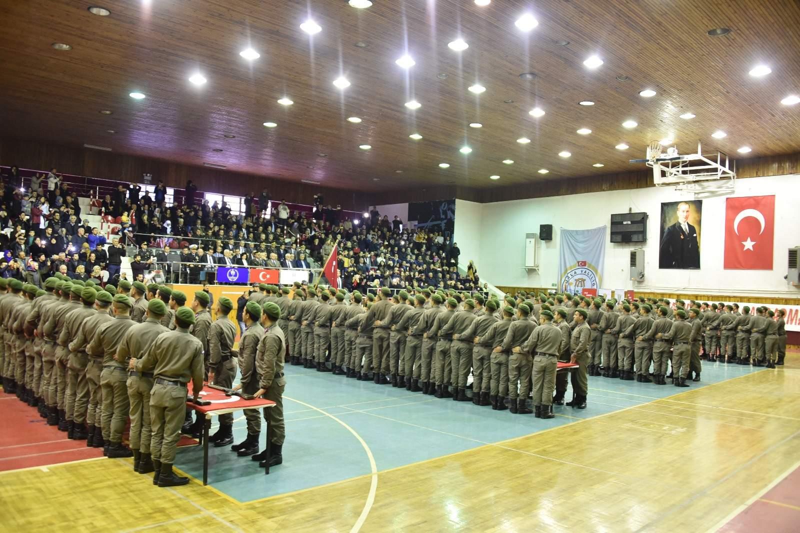 369. Kısa Dönem Jandarma Erler Yemin Etti