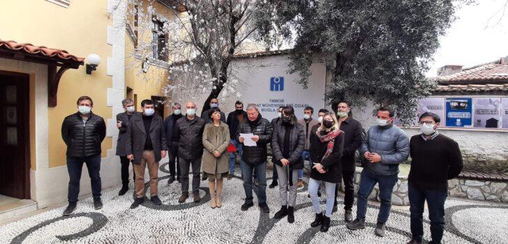 İnşaat Mühendisleri Odası Muğla Şube'den Muğla Deprem Master Planı Çağrısı