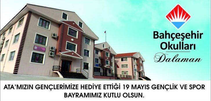 Bahçeşehir Okulları-Dalaman-19 Mayıs Gençlik ve Spor Bayramı kutlama mesajı