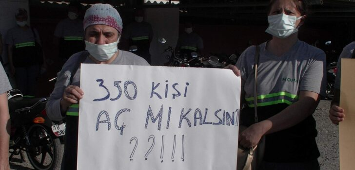 """DALAMAN MOPAK İŞÇİLERİ KAPATILMAYI PROTESTO ETTİLER; """"BURASI OYUNCAK DEĞİL, EKMEK KAPISI"""""""